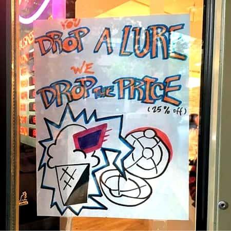 Drop a Lure