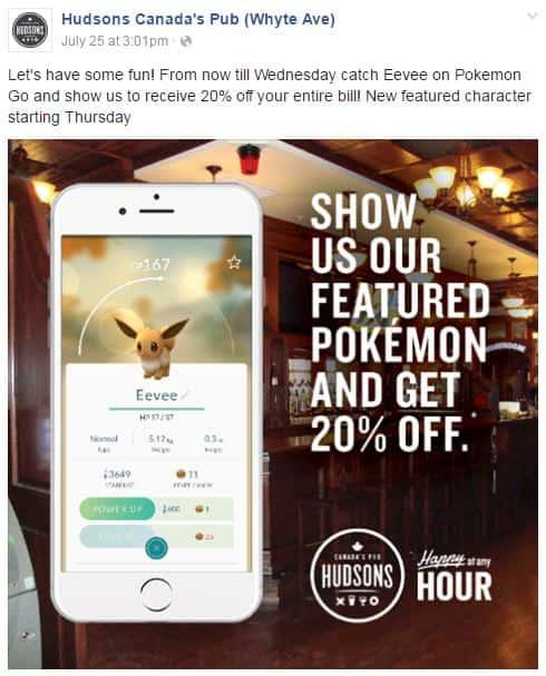 Hudson Pokemon Example