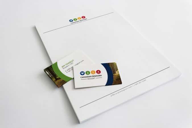 Canadian Bighorn Resort (Letter Card)